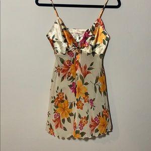 Floral Babydoll Slip Dress